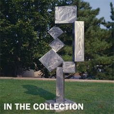 David Smith, Cubi XII (1963) outdoor sculpture