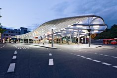 Bus Station Hamburg - Explore, Collect and Source architecture