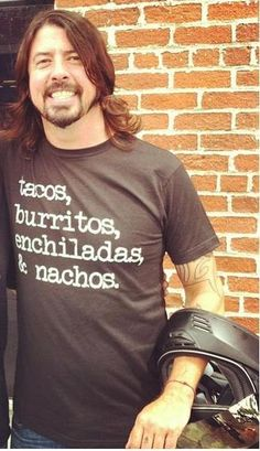 Dave and Mexican food. Two of my favorite things!