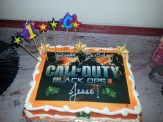 Call of Duty Black Ops II - cake