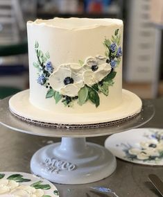 Pretty Cakes, Cute Cakes, Beautiful Cakes, Amazing Cakes, Simple Cake Designs, Cake Writing, Painted Cakes, Cake Pictures, Cake Decorating Techniques