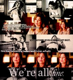 Grey's Anatomy Meredith and Derek Tumblr | 10 years of Epic chemistry.. ♥