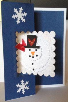Snowman Christmas Card. 2014