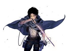 Levi Ackerman os fucking handsome as well