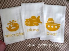 brown paper packages: {ballet bags & baby gifts}