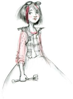 Abigail Halpin - Illustration: The Mechanicess - love her!