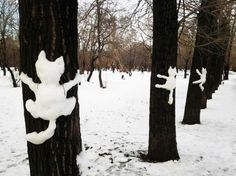 OH my. this is the BEST! :D Cats, Cats, Cats! If we get snow. I'm going to do. Land Art, I Love Cats, Crazy Cats, Funny Animals, Cute Animals, Funny Horses, Snow Sculptures, Winter Fun, Belle Photo