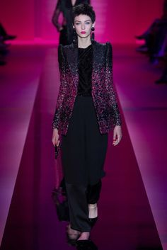 JACKEEEEEET <3 Armani Privé Fall 2015 Couture - Collection - Gallery - Style.com