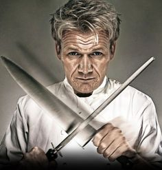 Gordon Ramsay. Seriously want to marry him.