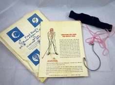 Golf Gag Gift Crotch Hook Leister Game Co 1963  Hilarious Gag Gift for the Struggling Golfer  The Crotch Hook has a head band Pink cords
