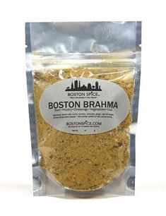 Boston Brahma - Beef, Poultry, Dressings, Vegetables, Dips - Approx 1/2 cup in a stand-up resealable pouch