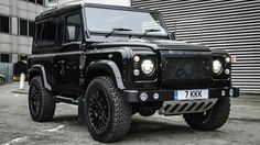 Land Rover Defender 90 Td4 customized twisted adventure KAHM EDITION