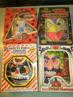 BEN COOPER costumes. The masks were hot and the eyes didn't always line up, but I miss those Trick or Treat nights.