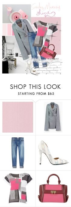 """""""Sunday Morning, Shine On!!"""" by flippintickledinc ❤ liked on Polyvore featuring WALL, Frame, TaylorSays, Crea Concept and Salvatore Ferragamo"""
