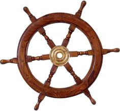 Hampton Nautical Deluxe Class Wood And Brass Decorative Ship Wheel Nautical Home Decoration Gifts Stylish Nautical Wall Décor Wall Decor fire pit designs patterns flooding designs with fireplace and sitting wall around pool and fire pit Nautical Wall Decor, Nautical Gifts, Nautical Home, Nautical Bedroom, Coastal Decor, Pirate Ship Wheel, Brass Wood, Wooden Ship, Wooden Boats