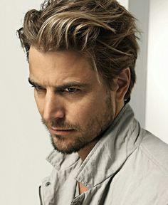 Cheveux Homme, Homme Blond, Cheveux Garçons, Homme Mi, Aime Tout, Tout Simplement, Beau Mec, Essayer, Coiffure Vincent