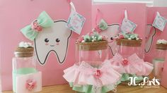 new born favors / first tooth sweet / decorated snayniye