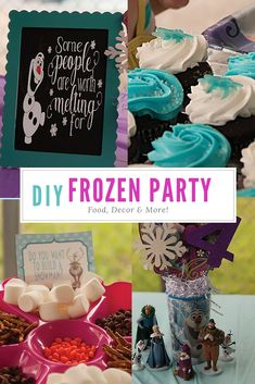 Frozen Pool Party - Birthday Party - This Crafty Mom