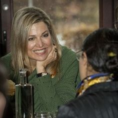Queen Maxima attends the Single Supermom Foundation Meeting