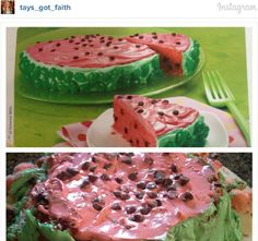 Food fails are the reason I cook. This poor, unfortunate watermelon cake Pin Fails, Funny Fails, Pinterest Fails, Pinterest Recipes, Pinterest Food, Ricky Martin, Baking Fails, Food Fails, Watermelon Cake