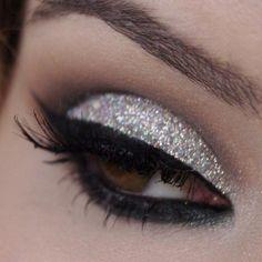 Make up Natale 2013 - Make up occhi argento per Natale