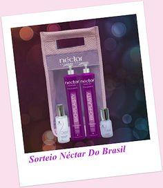 Sorteio - Néctar do Brasil - Vamos sortear um super Kit contendo: Shampoo, máscara, ativador de brilho,reparador de brilho e bolsa .Tudo isso para deixar seus cabelos maravilhosos!  Quem quiser participar, o sorteio será realizado dia 20/09.