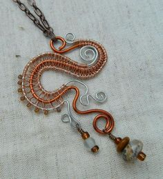 Wire Weaving - Necklace