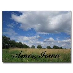 Summer Iowa Prairie Ames, Iowa Postcards by Natural View