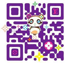 Designer QR Codes: Louis Vuitton Takashi Murakami Make QR Codes Fashionable Takashi Murakami, Qr Codes, Web Design Agency, Branding Design, Louis Vuitton Murakami, Superflat, Code Art, Intelligent Design, Design Trends
