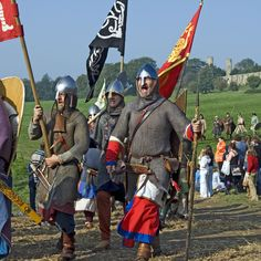 Re-enactment of the most celebrated confrontation to take place on English soil – the Battle of Hastings.
