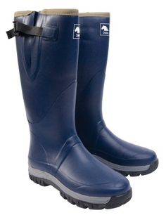 Dublin Deluxe Wellington Boots - Dublin Deluxe Wellington Boots. Neoprene lined Deluxe wellington boot with one piece steel shank and adjustable gusset at the top.