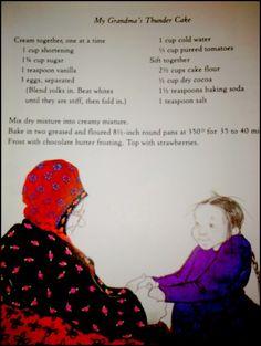 Grandma S Thunder Cake Recipe