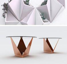 Prisma + Mesa Origami / SAVIA