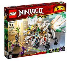 Lego Ninjago Legacy 70679 Ultra Dragon Battle With Ninja Warriors Vs Garmadon Ninjago Lego Sets, Lego Ninjago Minifigures, Lego Duplo, Ninjago Party, Ninjago Dragon, Lego Dragon, Legos, Lego Dimensions, Guerrero Ninja