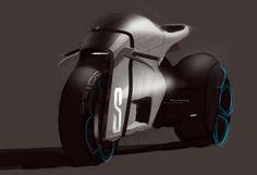 2011 | Sportbike | Art by Yann Jarsalle (Renault Design Team) | S.Broof/PetereSteven | Source