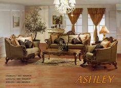 Ashley Furniture Living Room   ... Antique Living Room Set ...