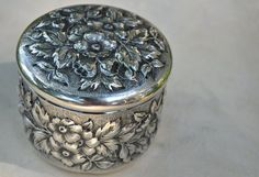 Victorian Sterling Silver American Antique Dresser by Adoregeous