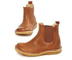 Pom Pom Chelsea Boot in Whisky £60