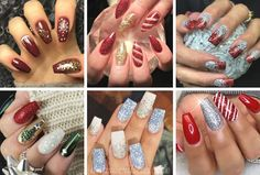 Nails, Collages, Beauty, Types Of Nails, Perfect Nails, Jitter Glitter, Finger Nails, Ongles, Collagen