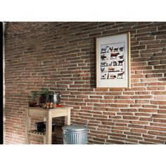 Brique de parement on pinterest revetement mural bois - Brique de verre leroy merlin ...