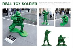 Living statues by Limited Edition Toys