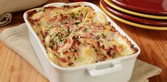 14 Recipes for Serving the Best Mashed Potatoes - Page 11 of 15 Best Mashed Potatoes, Sliced Potatoes, Funeral Potatoes, Ham And Potato Casserole, Casserole Dishes, Tastee Recipe, Scalloped Potatoes And Ham, Chips, Incredible Recipes