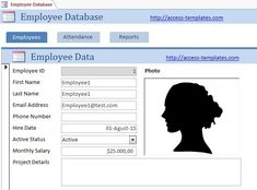 Access Database Templates For Employee Scheduling Access Database Templates Inventory Management Templates