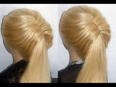 Frisuren mit Fischgrätenzopf.Flecht/Zopffrisur.Fishtail Braid Hairstyles.Peinados - YouTube