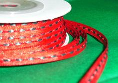 Thin Ribbon Spool1/8 X 25 yards by ThisandThatCrafter on Etsy, $3.25