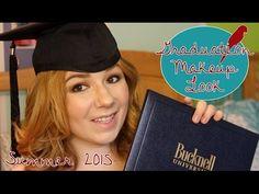 Graduation Hair & Makeup Tutorial   Summer 2015 - YouTube
