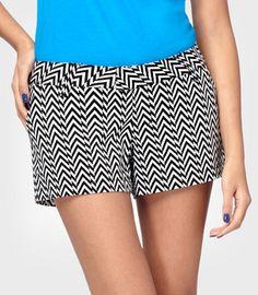 Zig-Zag Shorts...looks a bit like a test pattern. Love them!!!