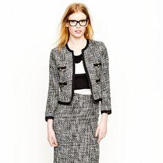 Pepper tweed jacket