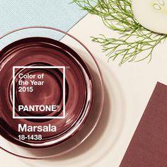 Pantone svela il Colore dell'Anno 2015: PANTONE 18-1438 Marsala