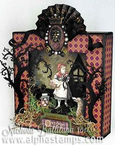 Alpha Stamps News » Through the Woods, Tiny Books & More Snarky Housewives